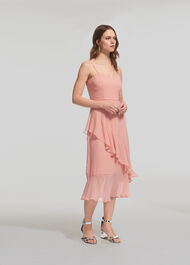Amber Frill Dress Pale Pink
