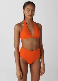 Klara Minimal Bikini Top Red