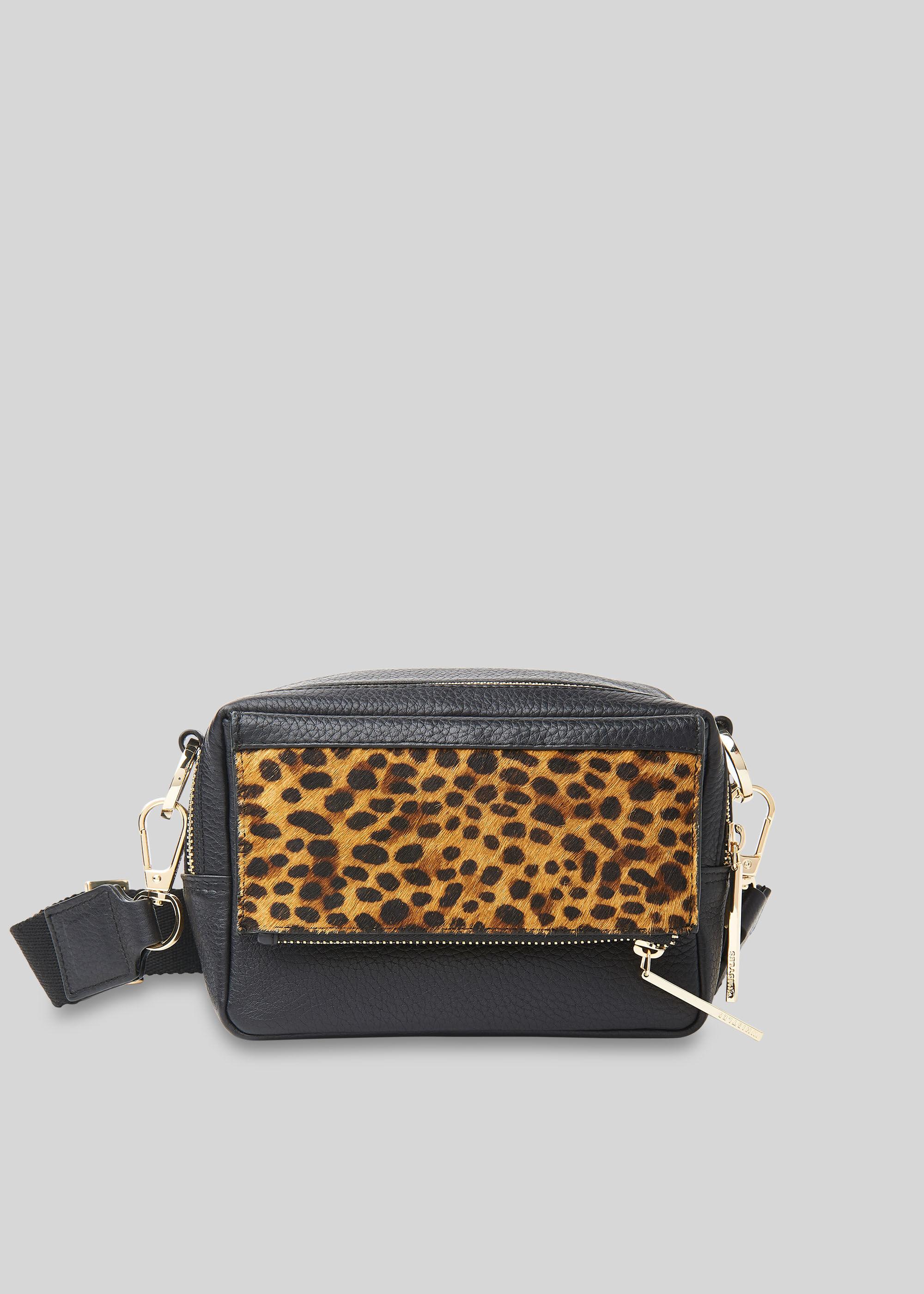Whistles Women Bibi Leopard Crossbody Bag