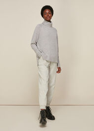Cashmere Roll Neck Knit