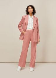 Sana Single Breasted Blazer Pale Pink