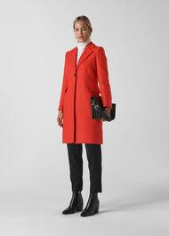 Clara Single Breasted Coat