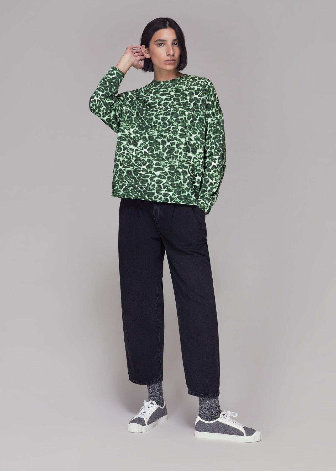 Clouded Leopard Sweatshirt