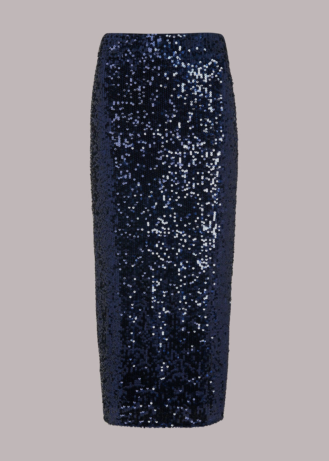 Sequin Column Skirt