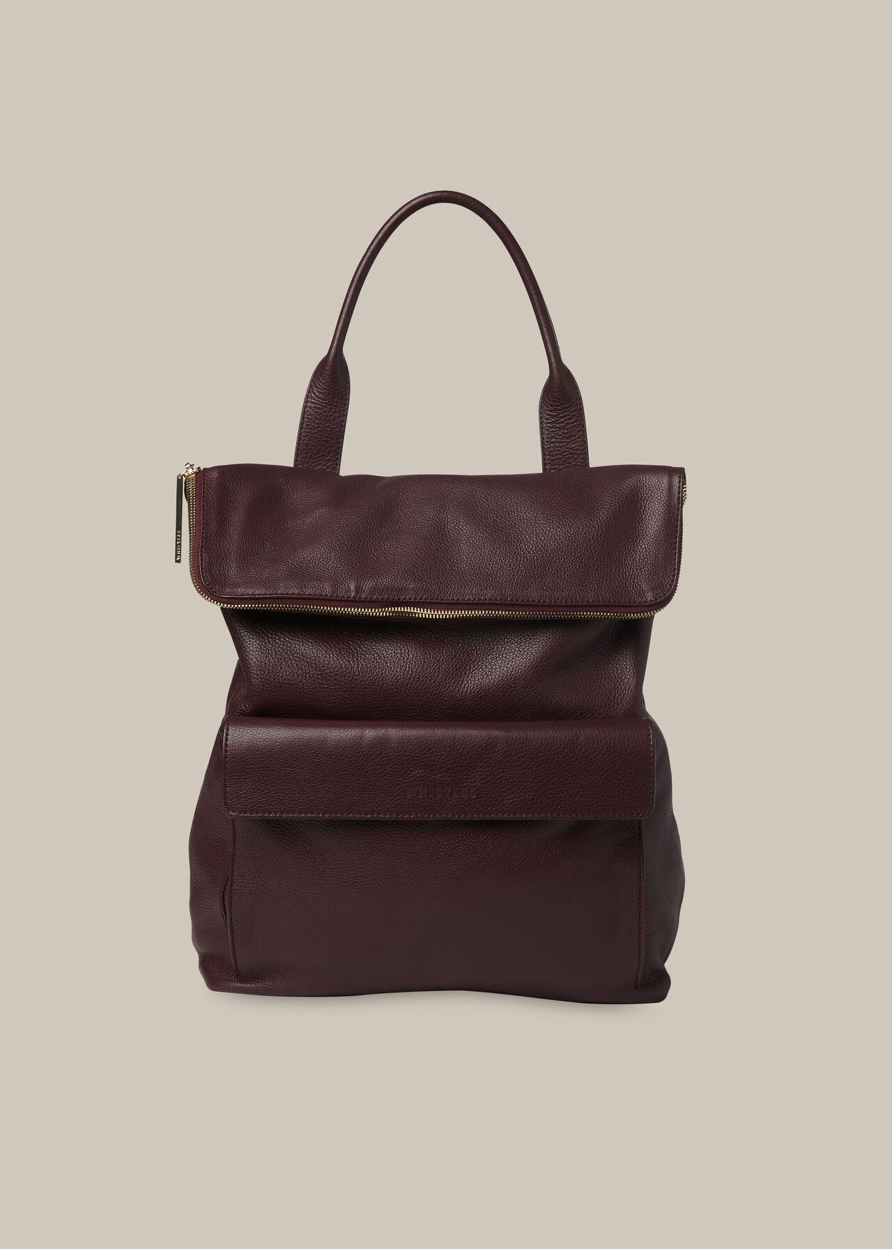 Verity Backpack Plum