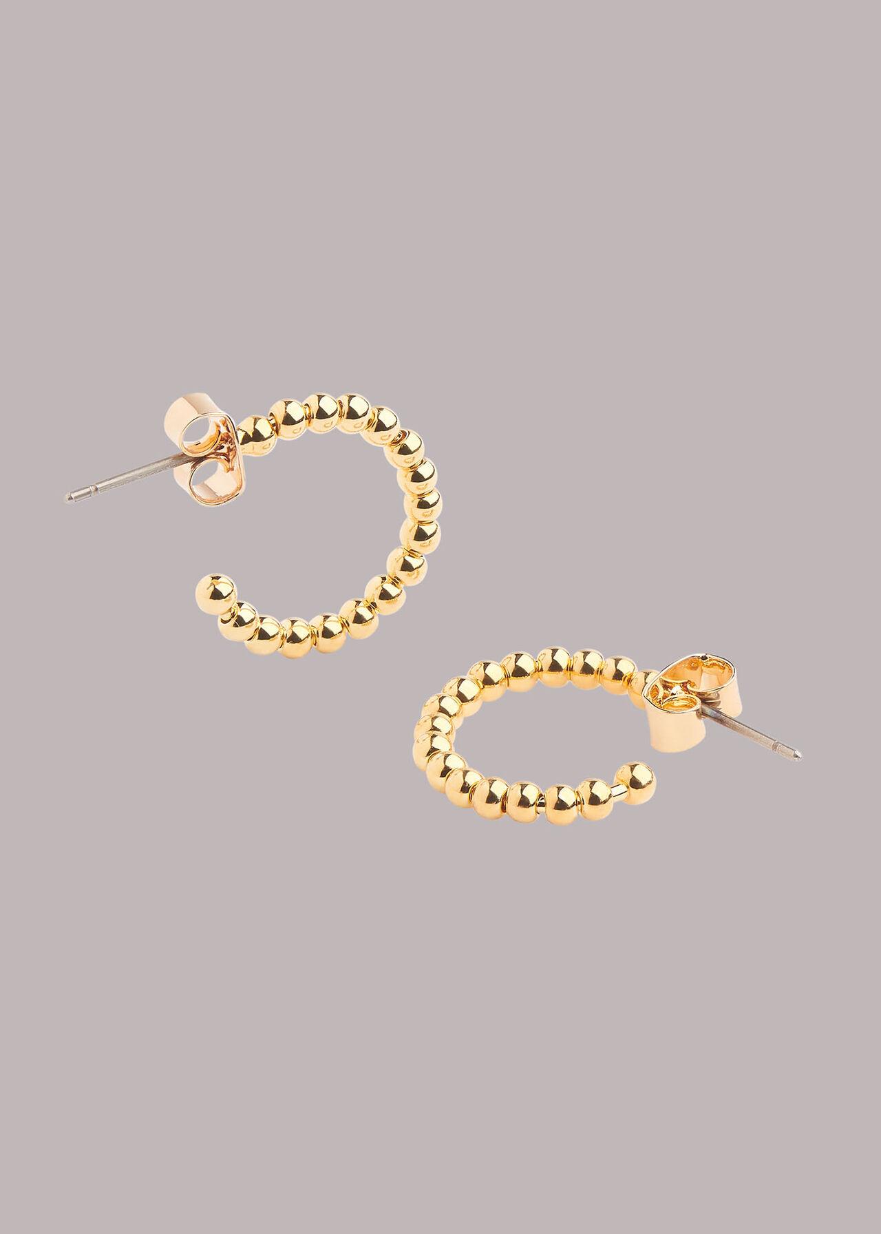 Mini Seed Bead Hoop