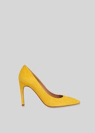 Cornel Suede Pump Yellow