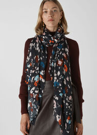 Lily and Lionel Animal Scarf Black/Multi