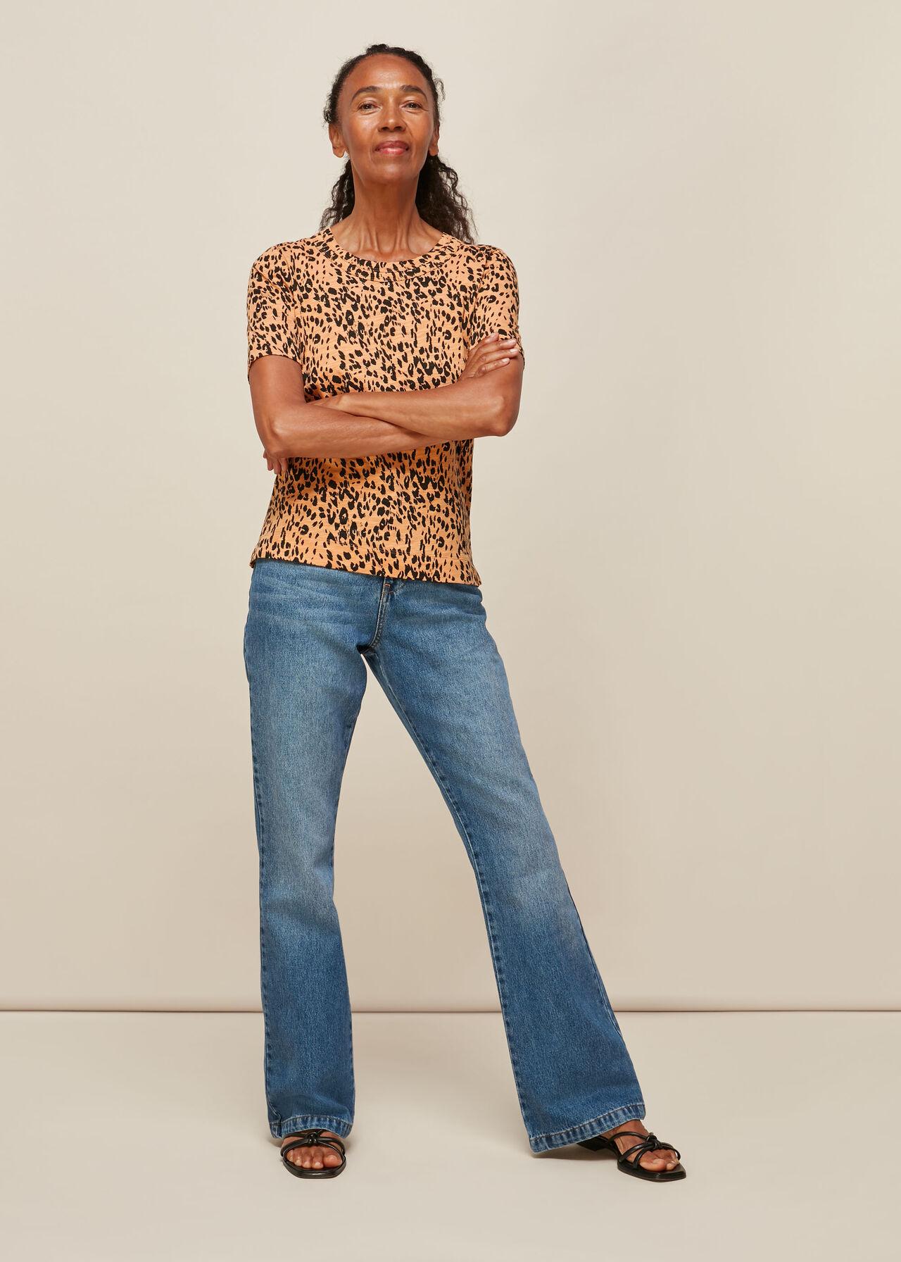 Safari Print Rosa Tshirt