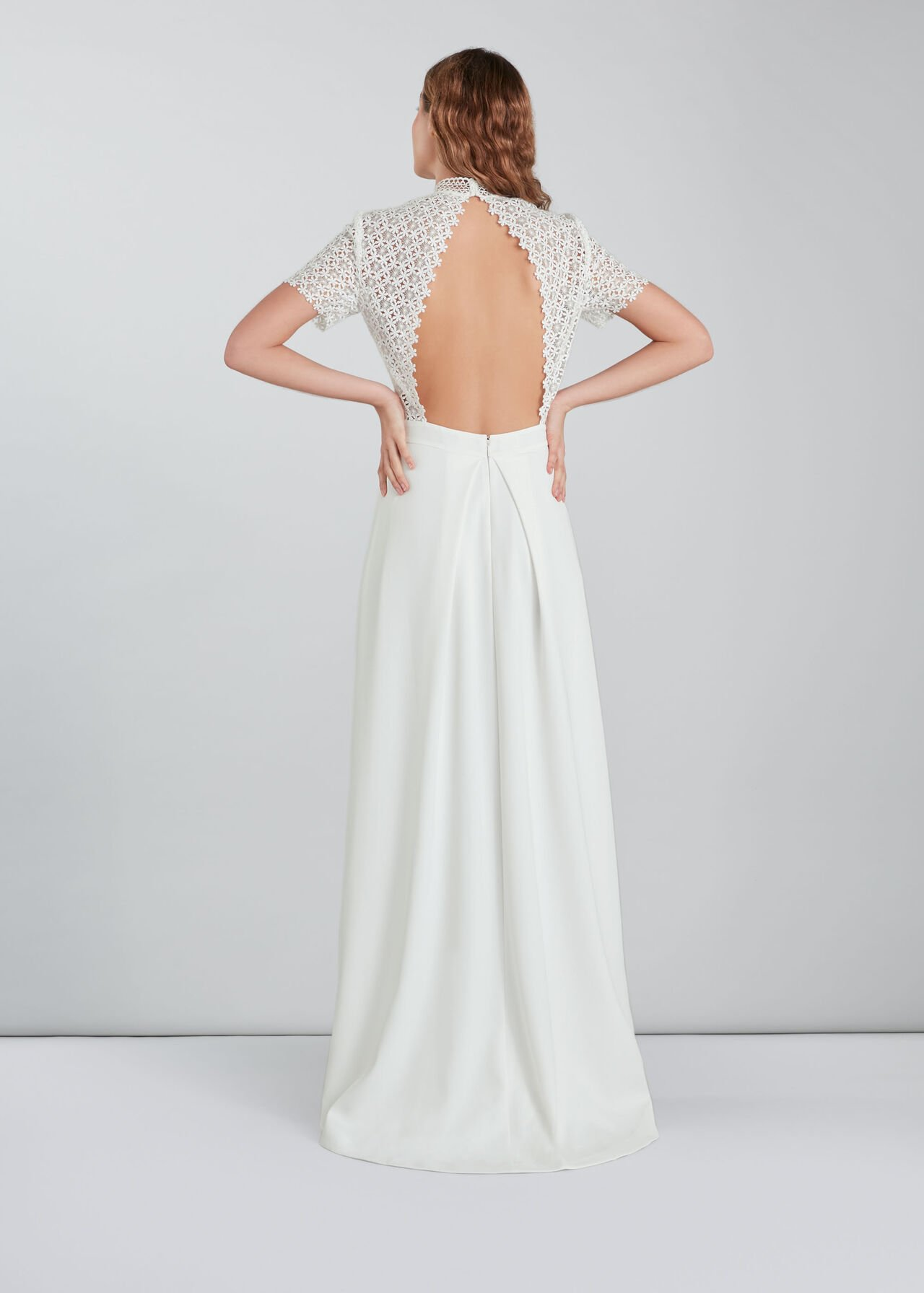 Scarlett Wedding Dress Ivory