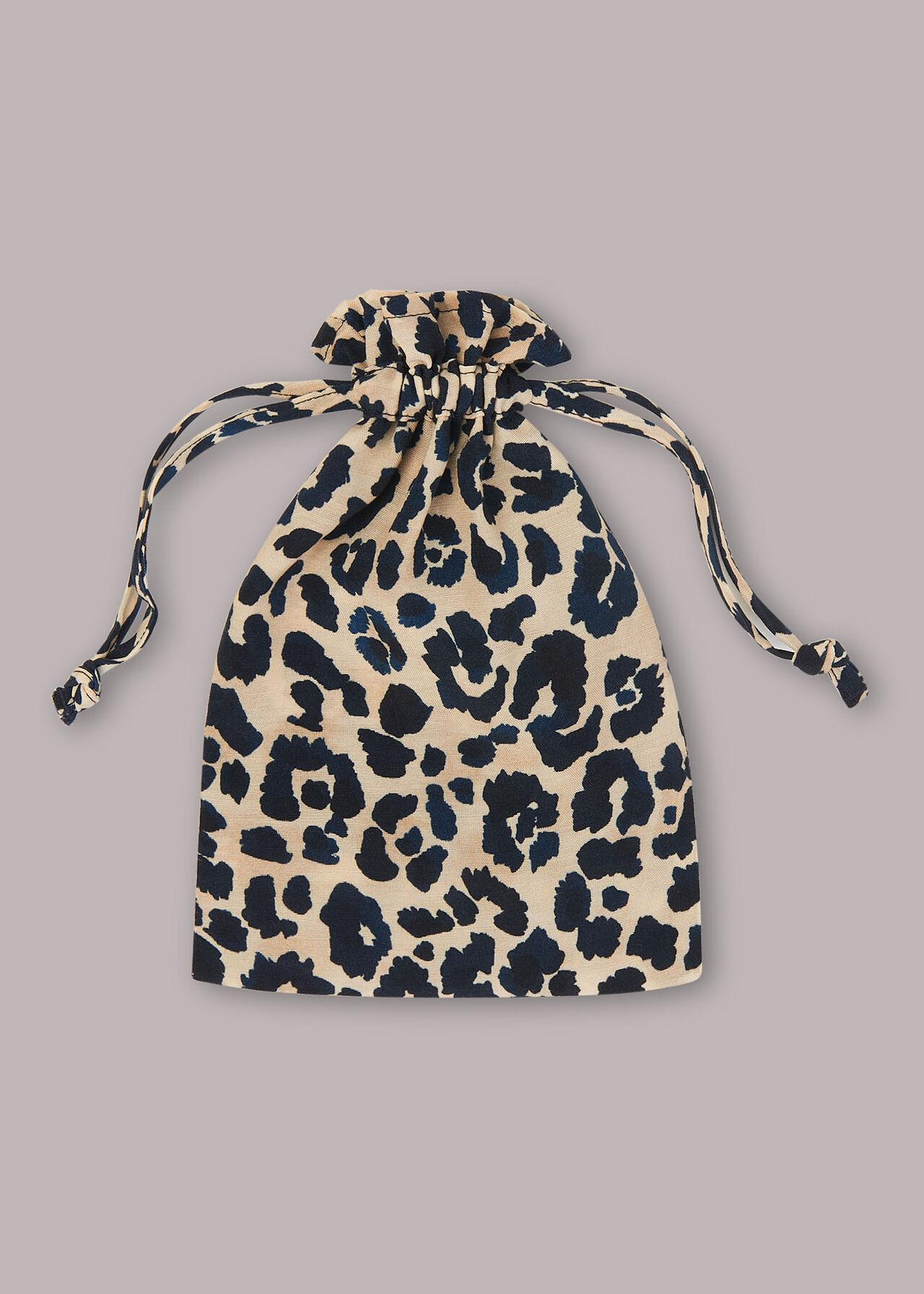 Cheetah Print Face Covering