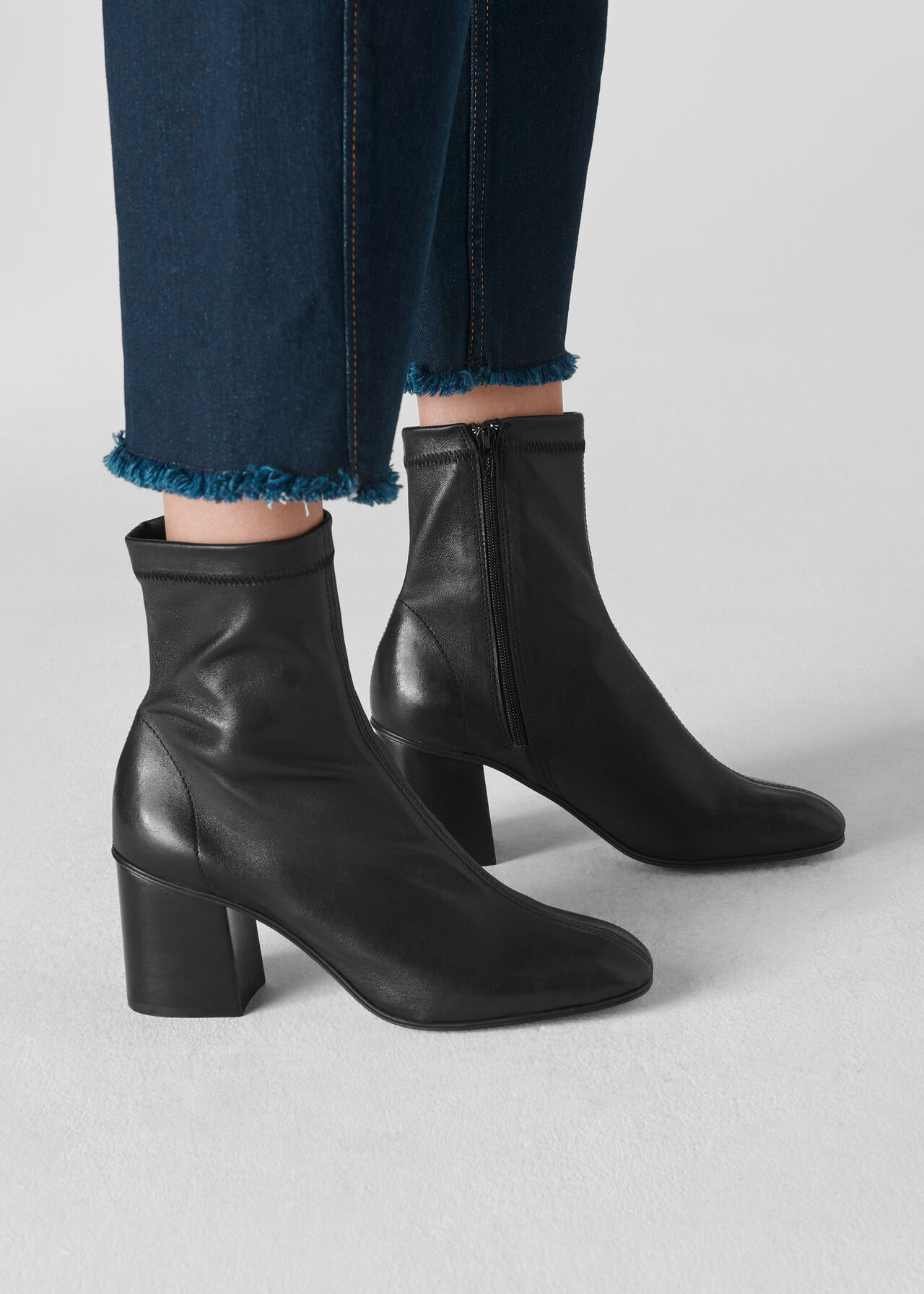 Vianna Sock Boot Black
