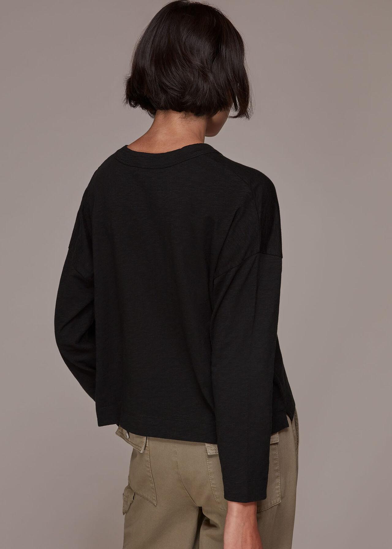 Jersey Pocket Cardigan