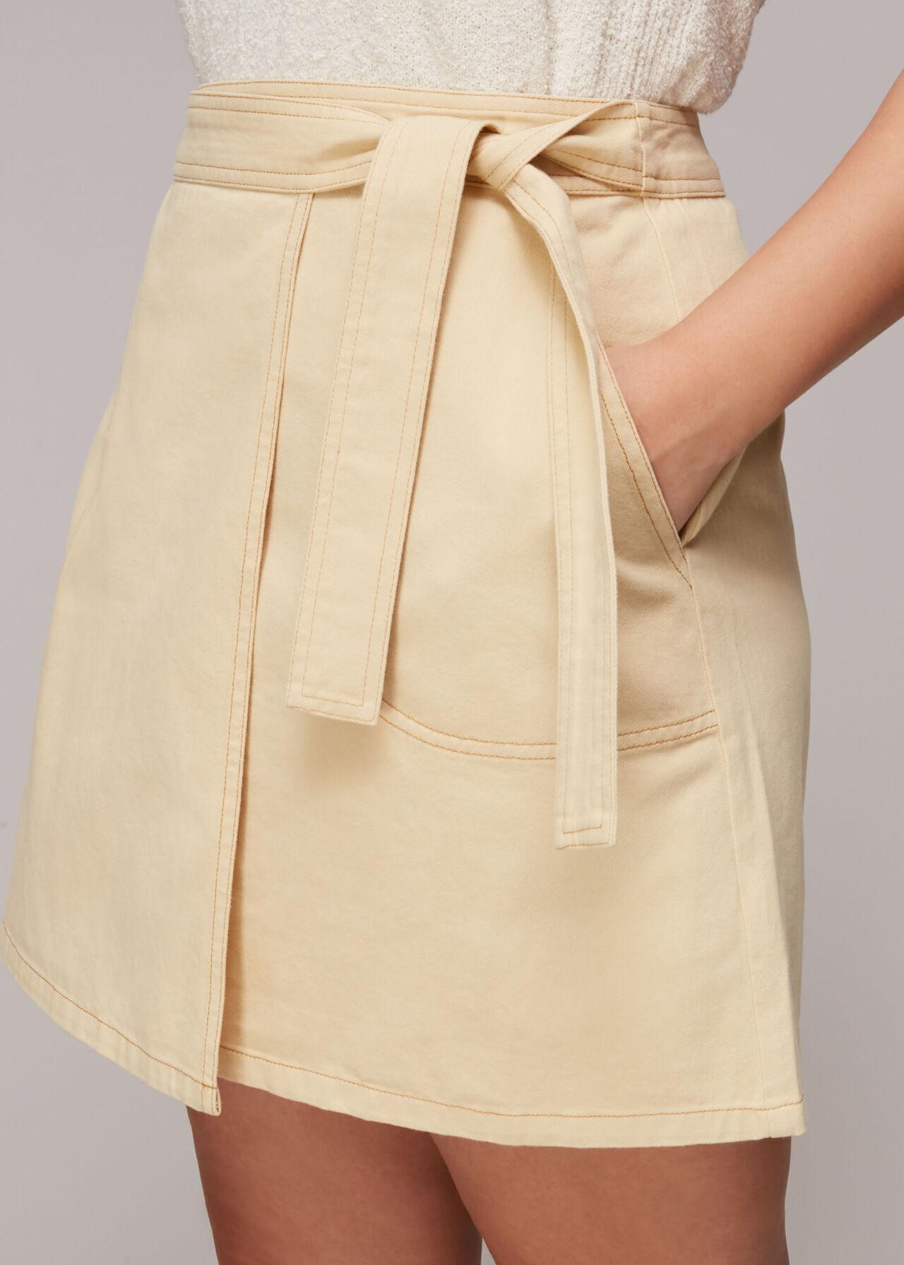 Macie Wrap A Line Skirt