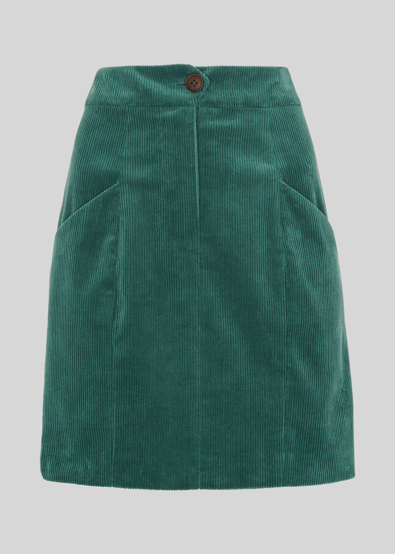 Billie Cord Skirt Sage Green