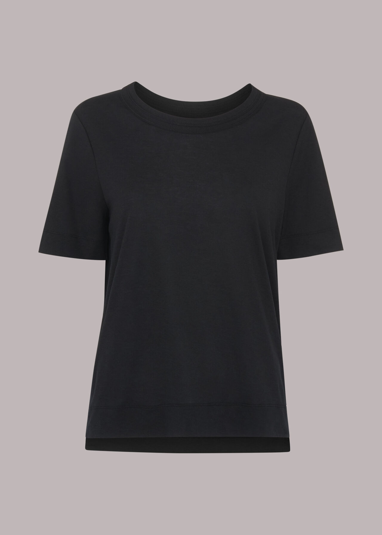 Rosa Double Trim Tee Shirt
