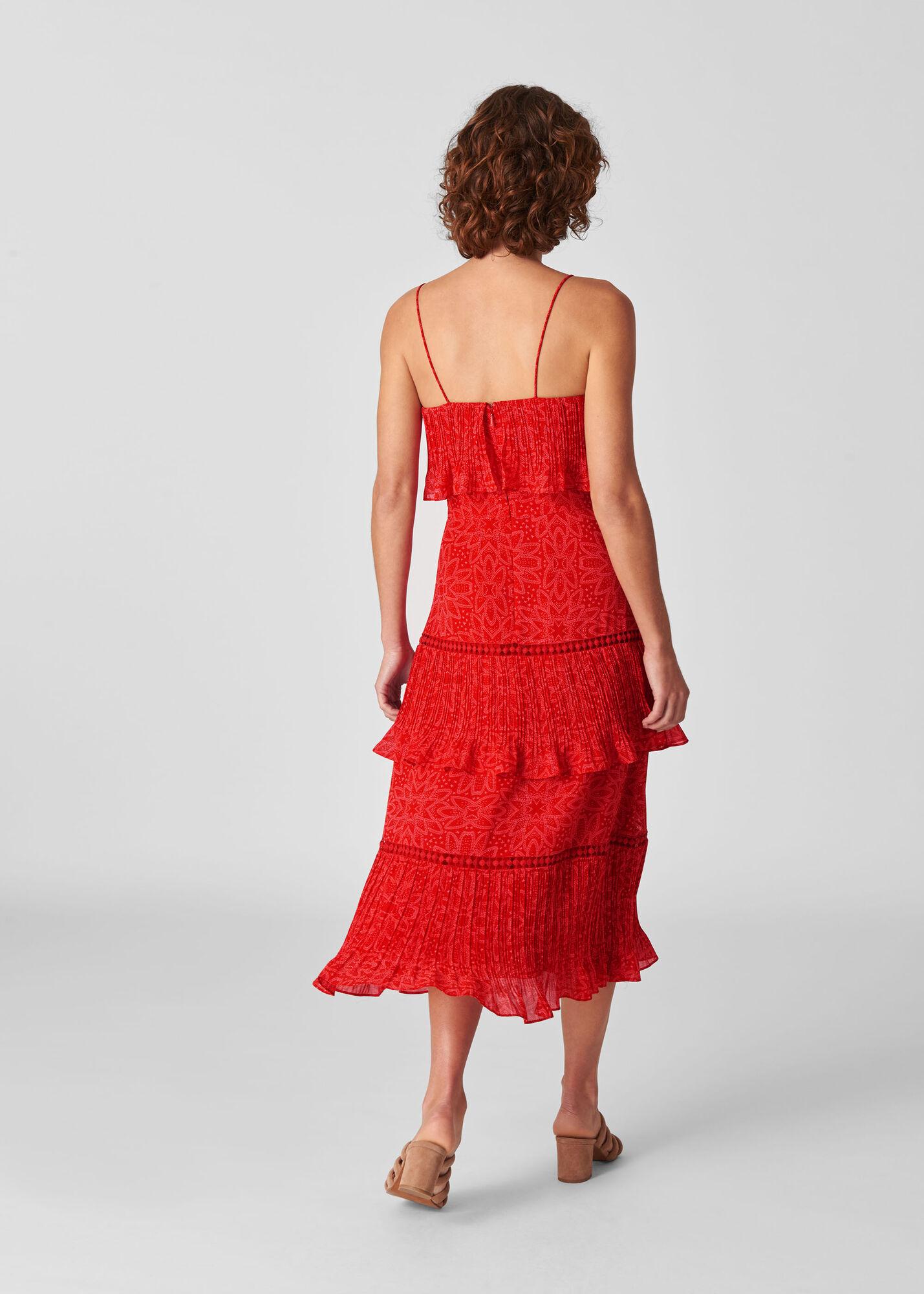 Riya Print Tiered Dress