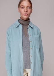 Lucie Corduroy Oversized Shirt