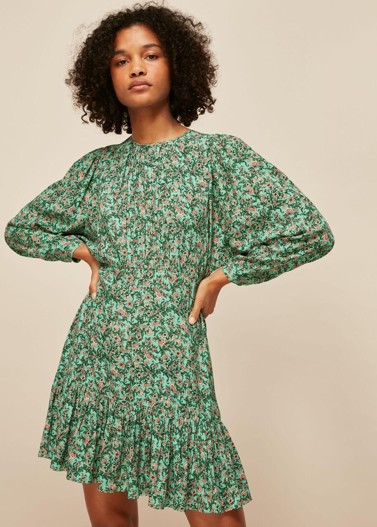 Heath Floral Print Dress