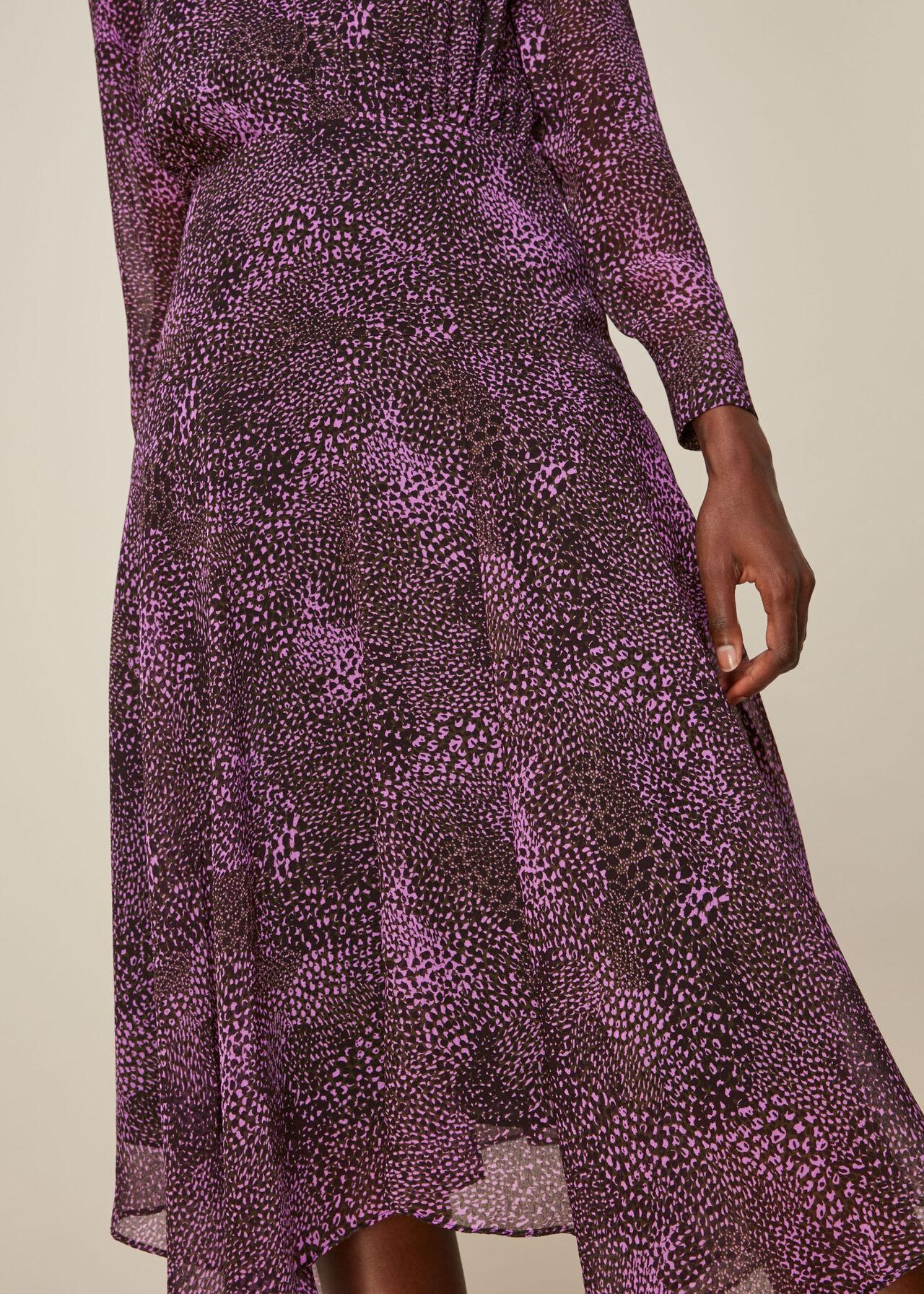 Snake Print Carlotta Dress