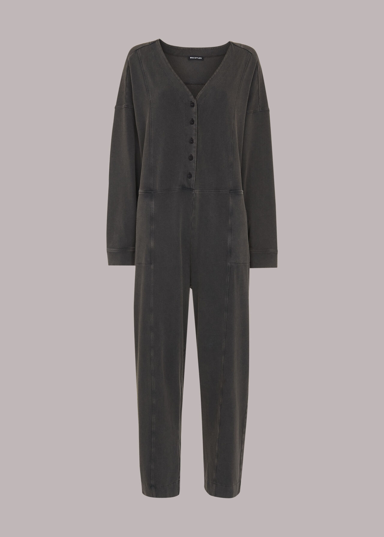 India Washed Jersey Jumpsuit