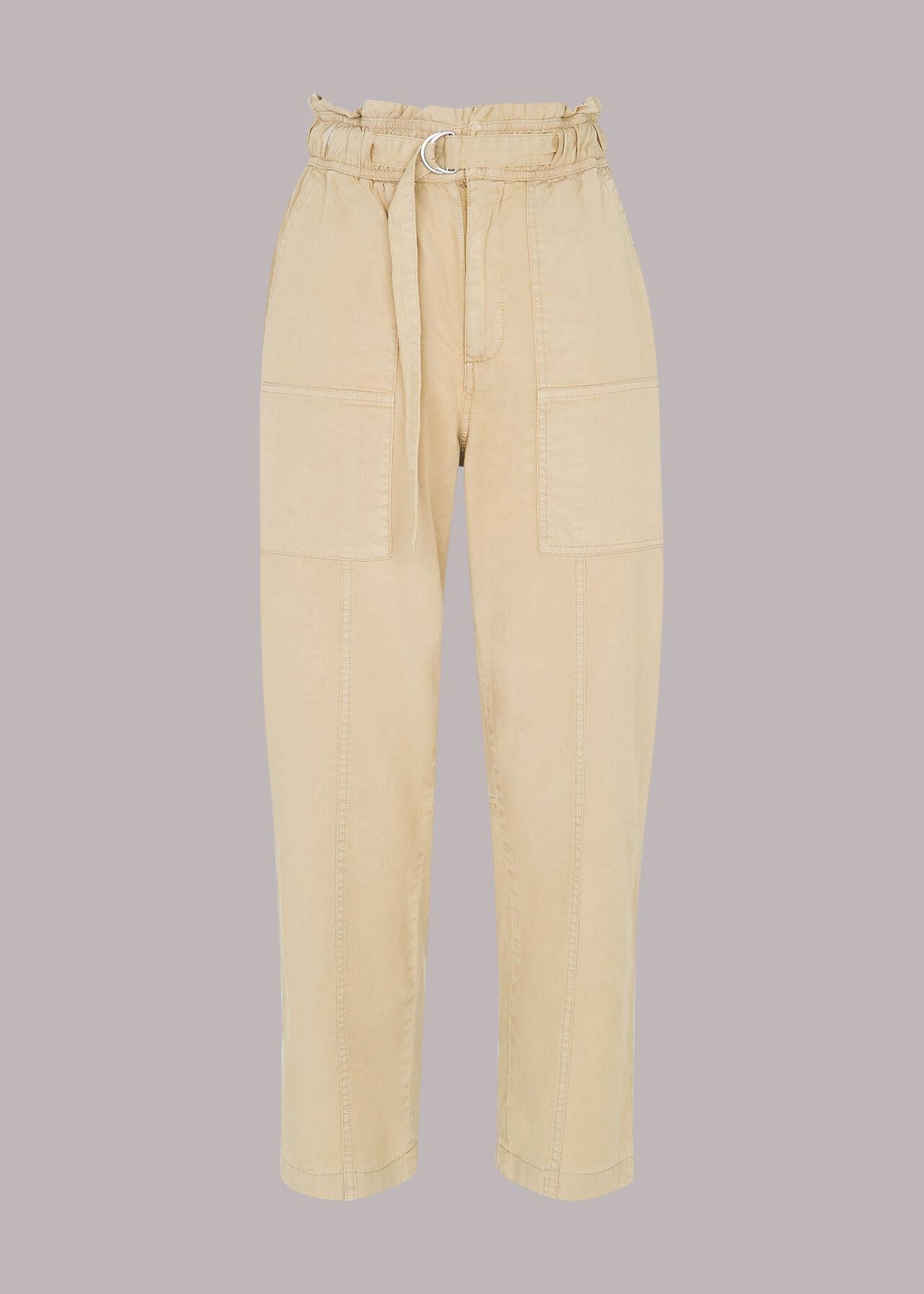 Cargo Straight Leg Trouser