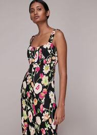 Maila Electric Floral Dress