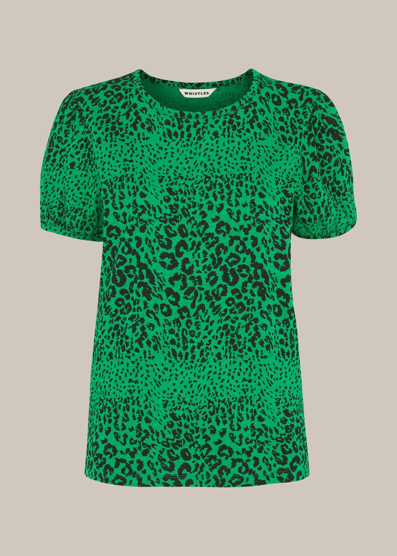 Speckled Animal Puff Tshirt
