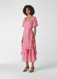 Viola Dress Pink/Multi