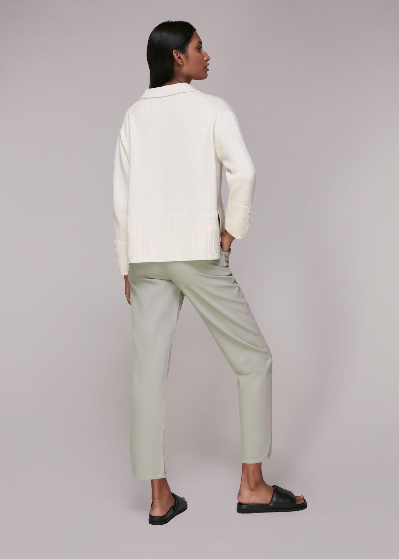 Pax Zip Front Trouser