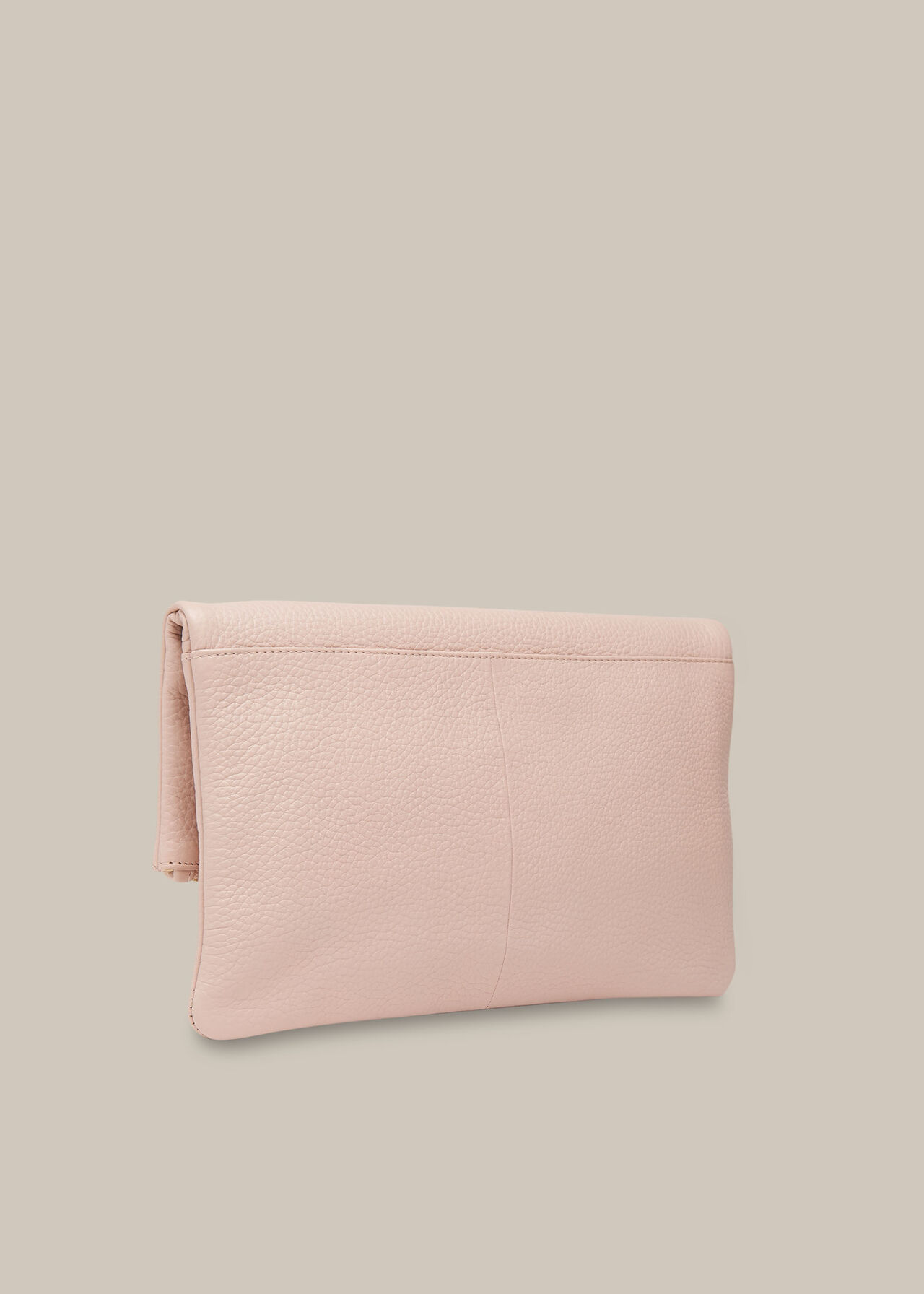 Chapel Zip Foldover Clutch