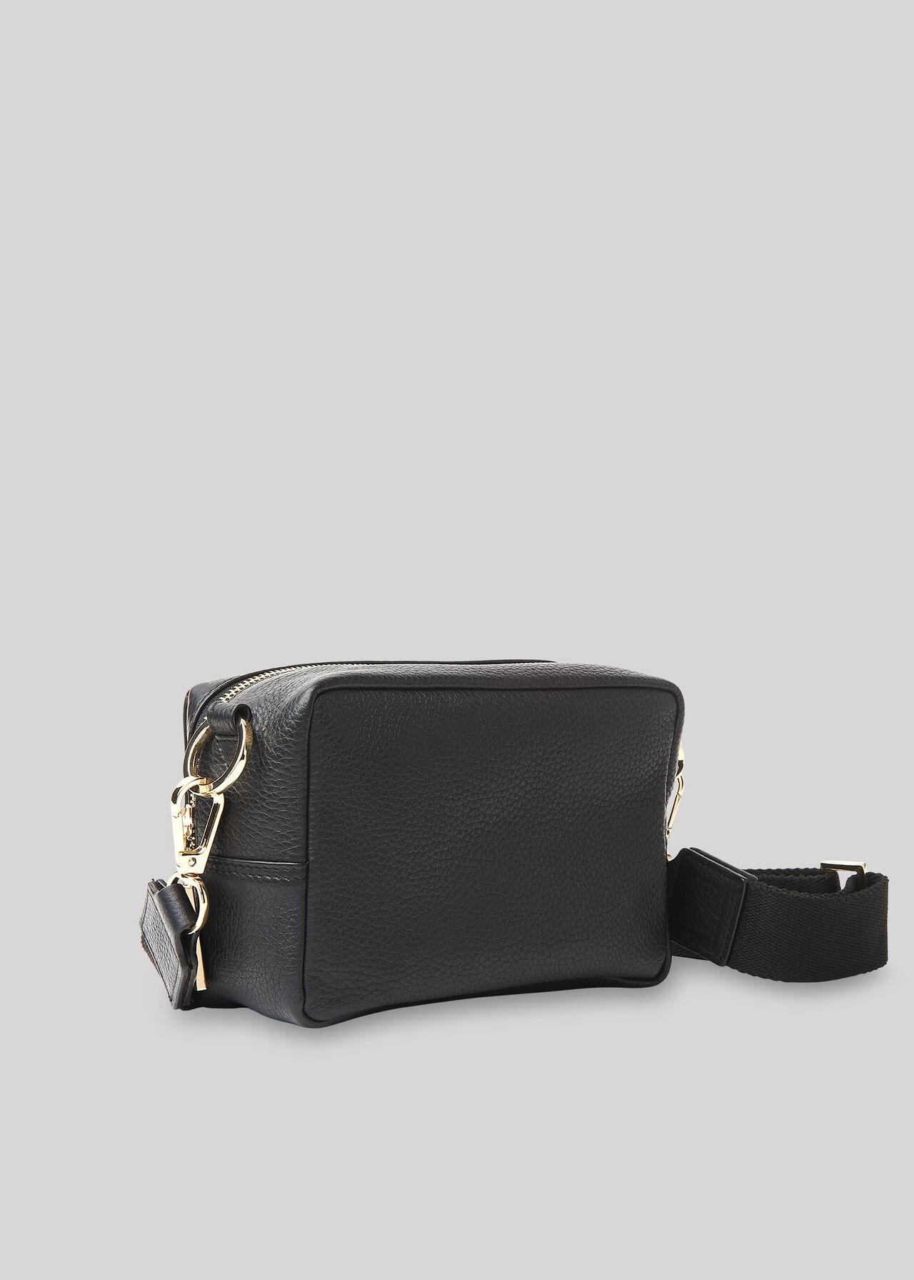 Bibi Leopard Crossbody Bag Black/Multi