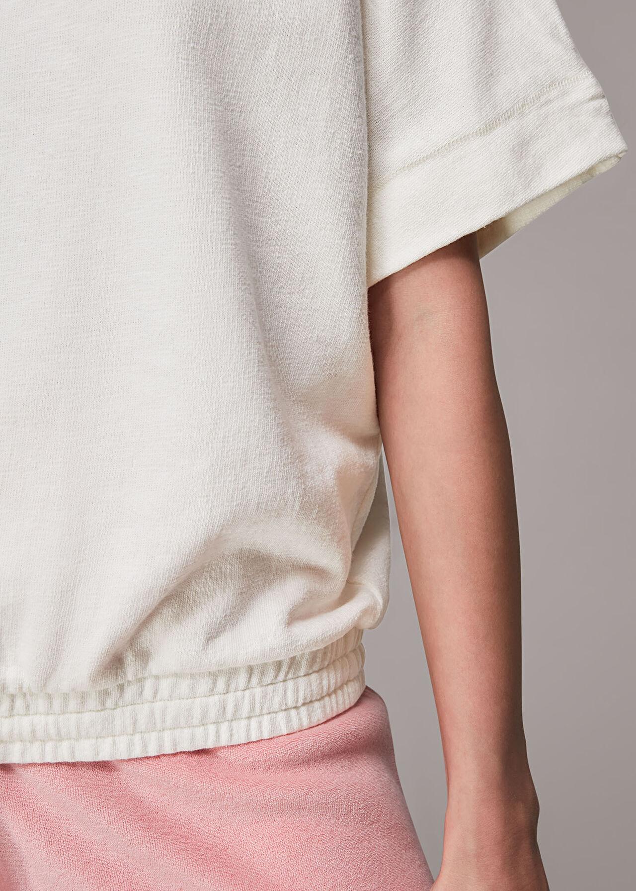 Short Sleeve Drawstring Sweat