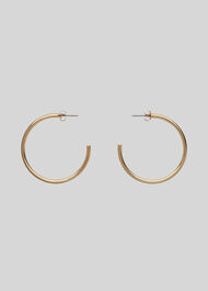 Large Classic Hoop Earring Gold