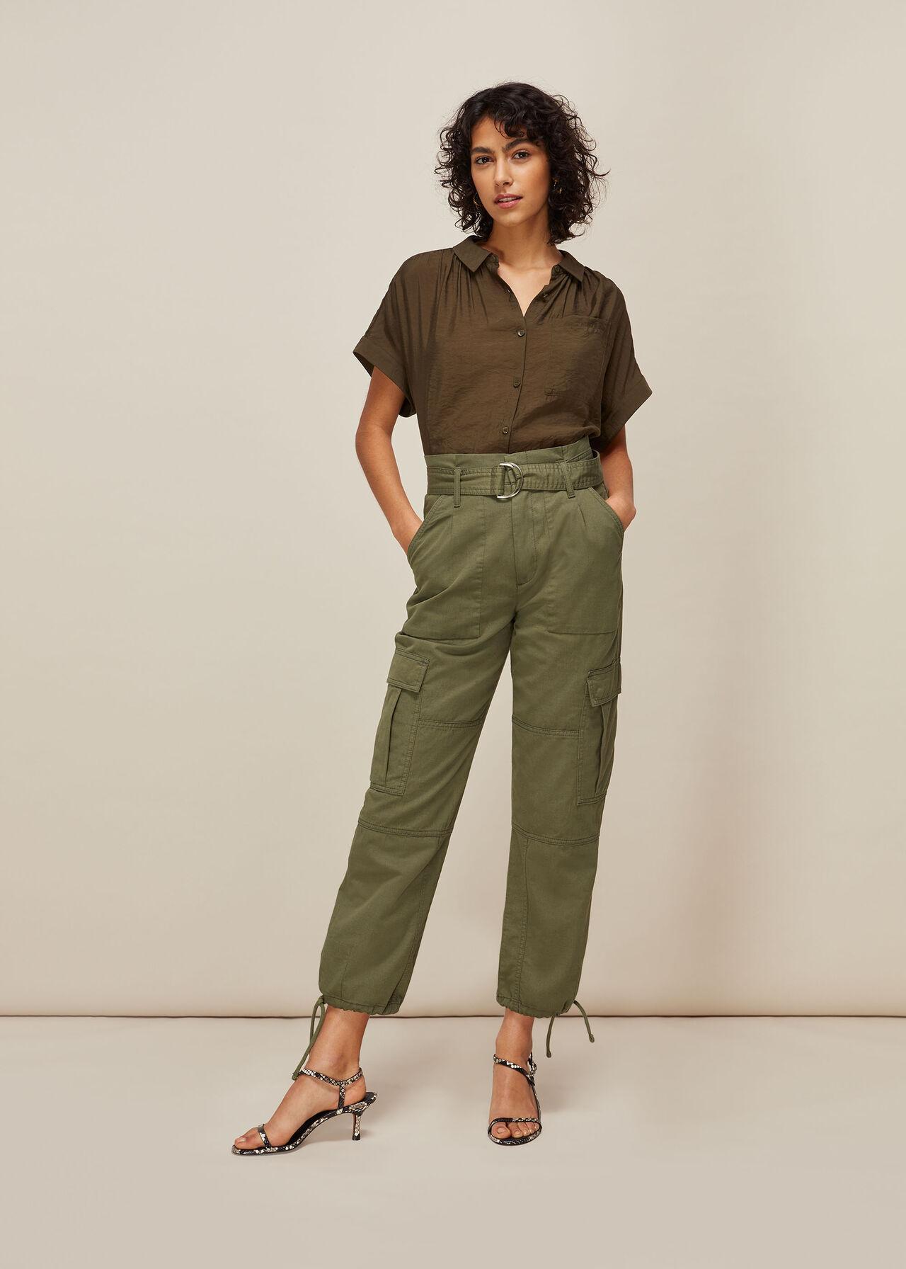 Cargo Military Trouser Khaki