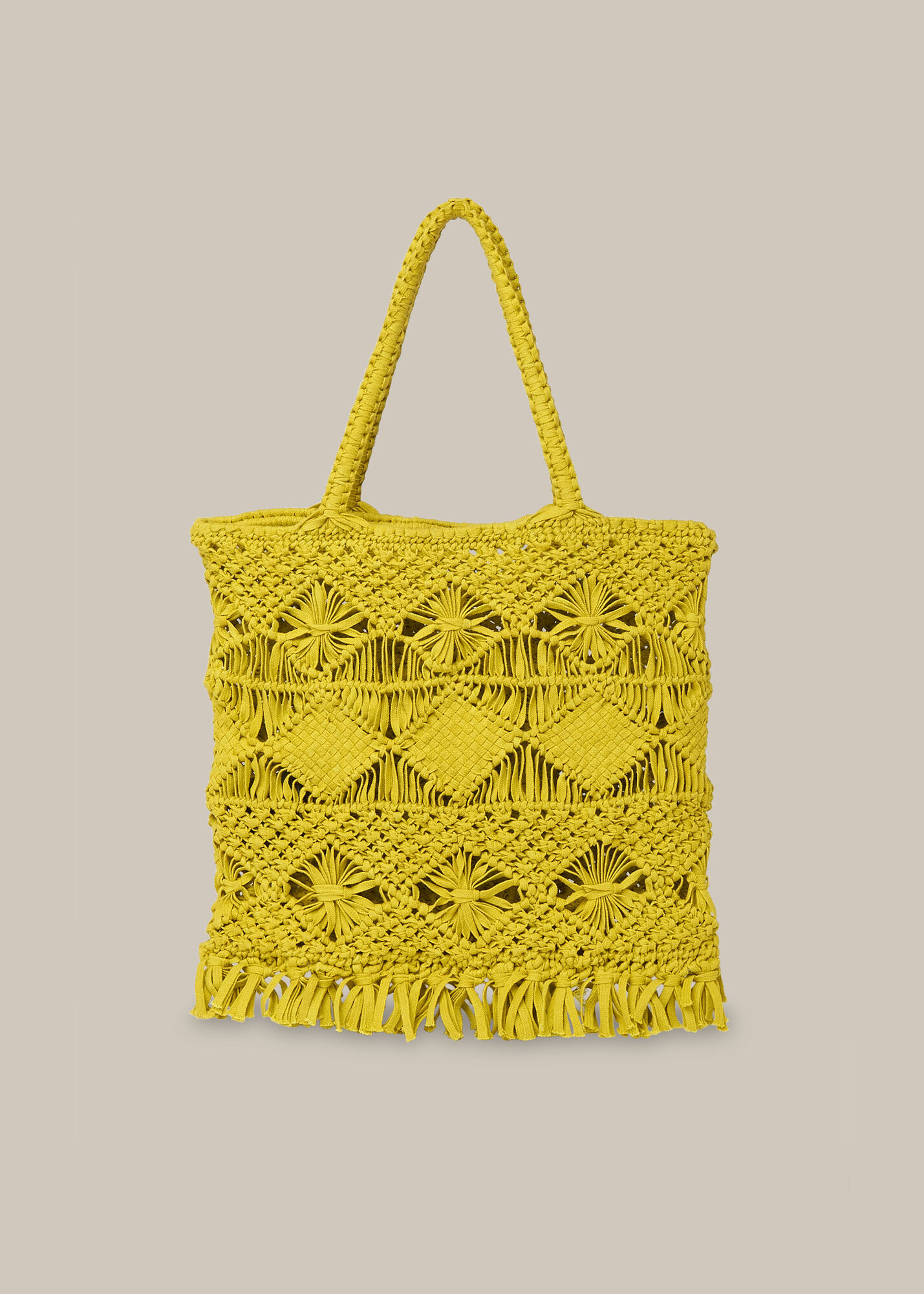 Clea Crochet Tote
