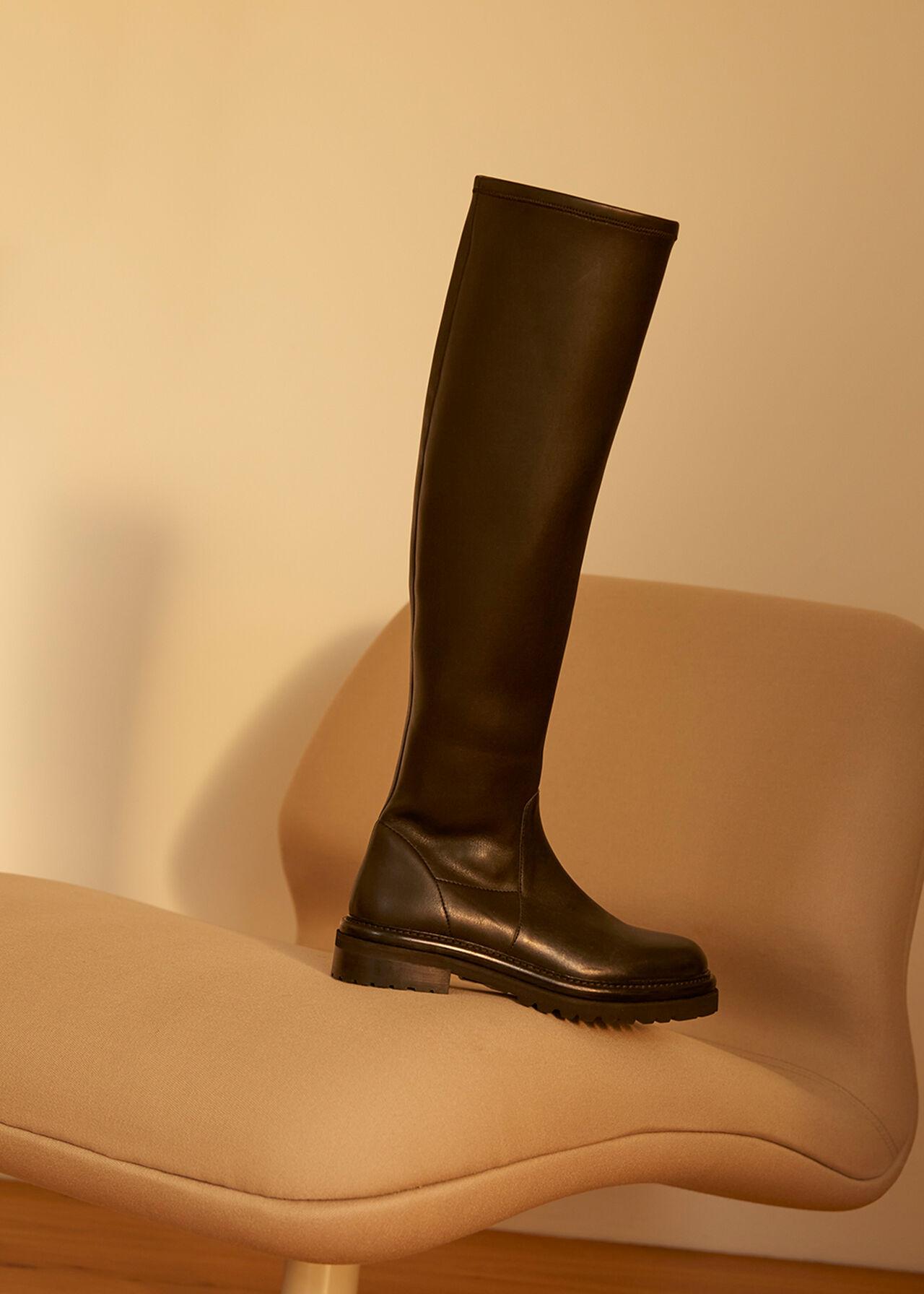 Allen Stretch Knee High Boot