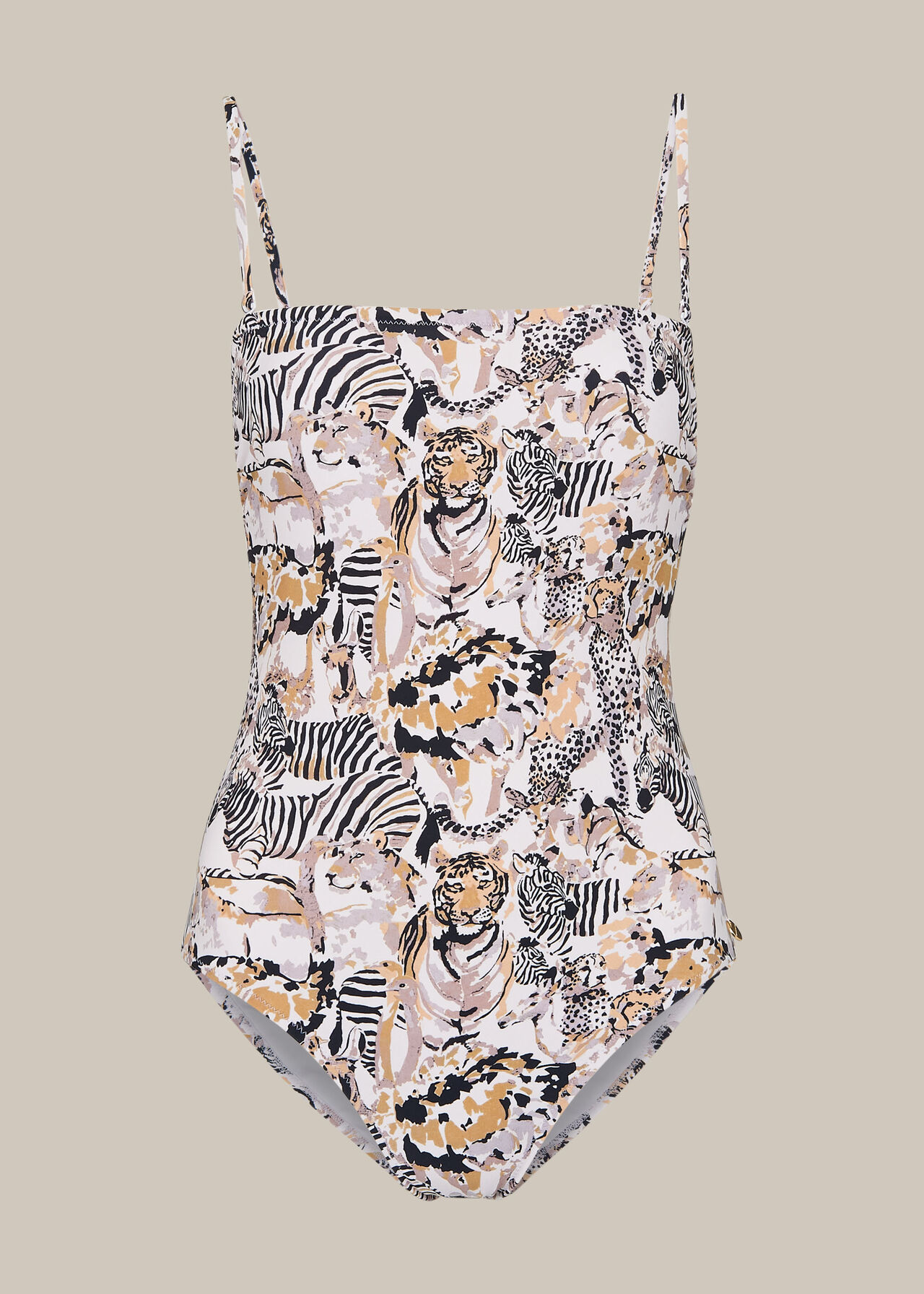 Safari Print Swimsuit