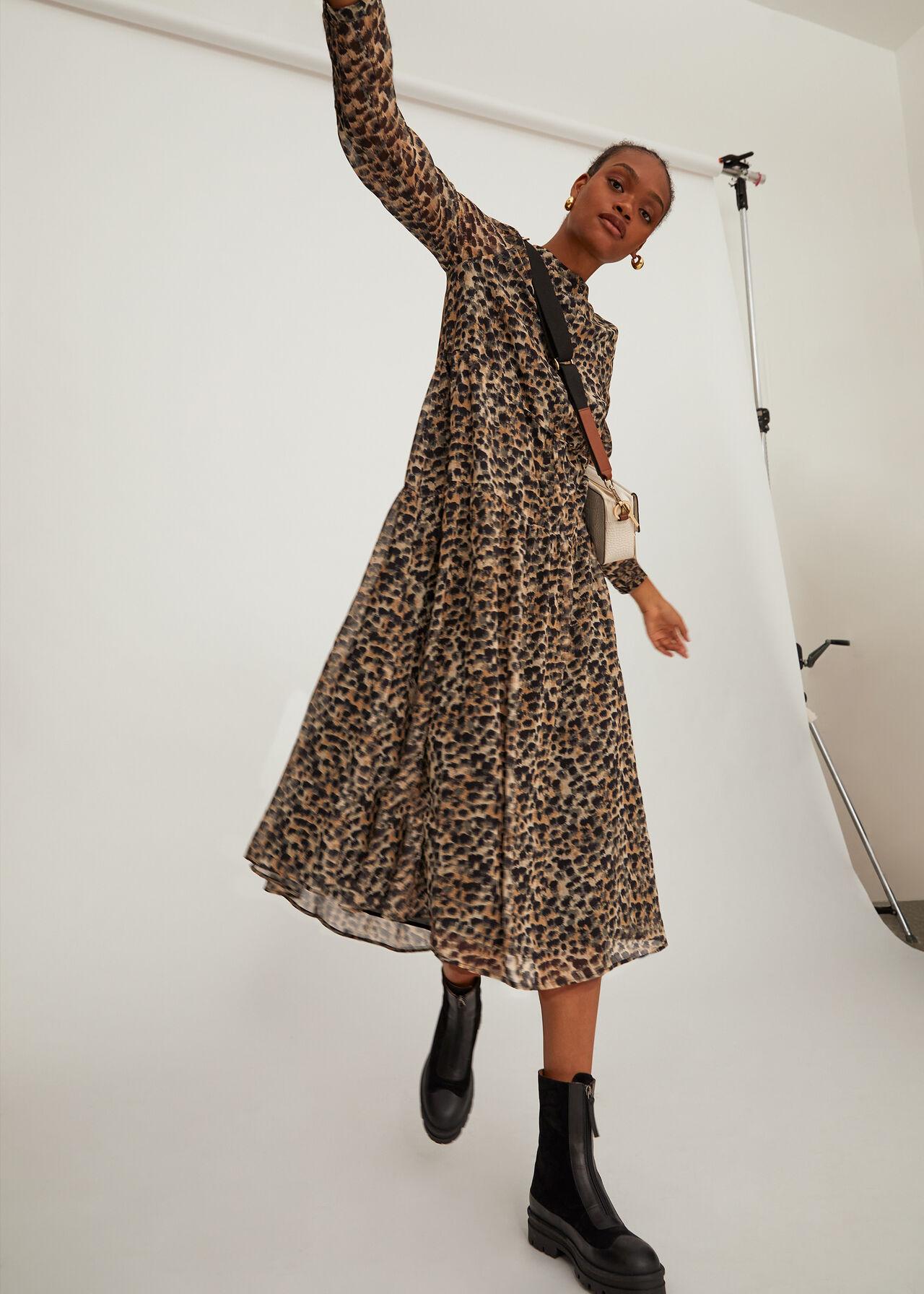 Brushmark Animal Print Dress