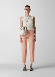 Hollie Straight Leg Jean Pale Pink