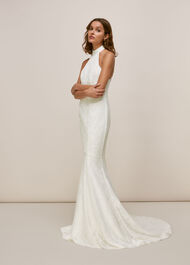 Maria Halter Wedding Dress Ivory