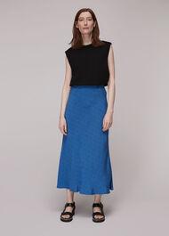 Animal Fleck Print Skirt