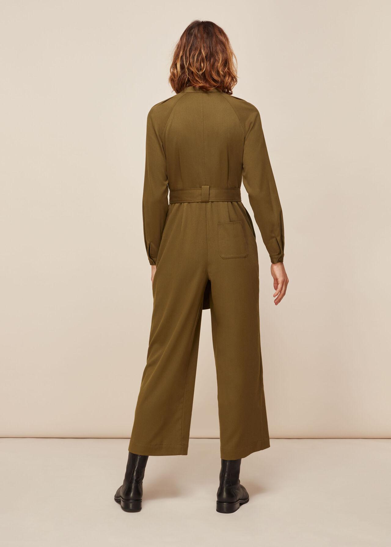 Tie Front Jumpsuit