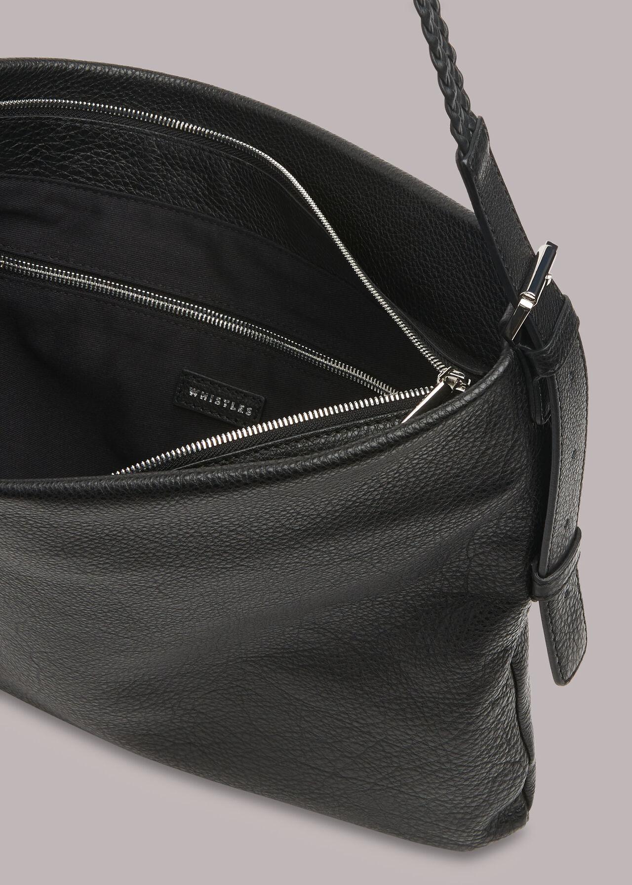 Jovi Plaited Handle Bag