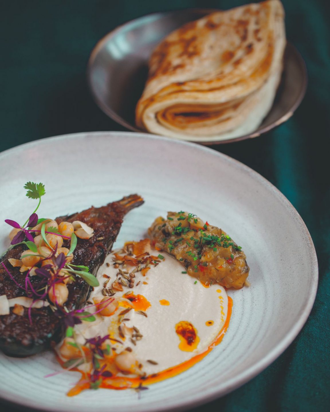 Your October Recipe Dosa With Slow Cooked Aubergine Inspiration Whistles Whistles