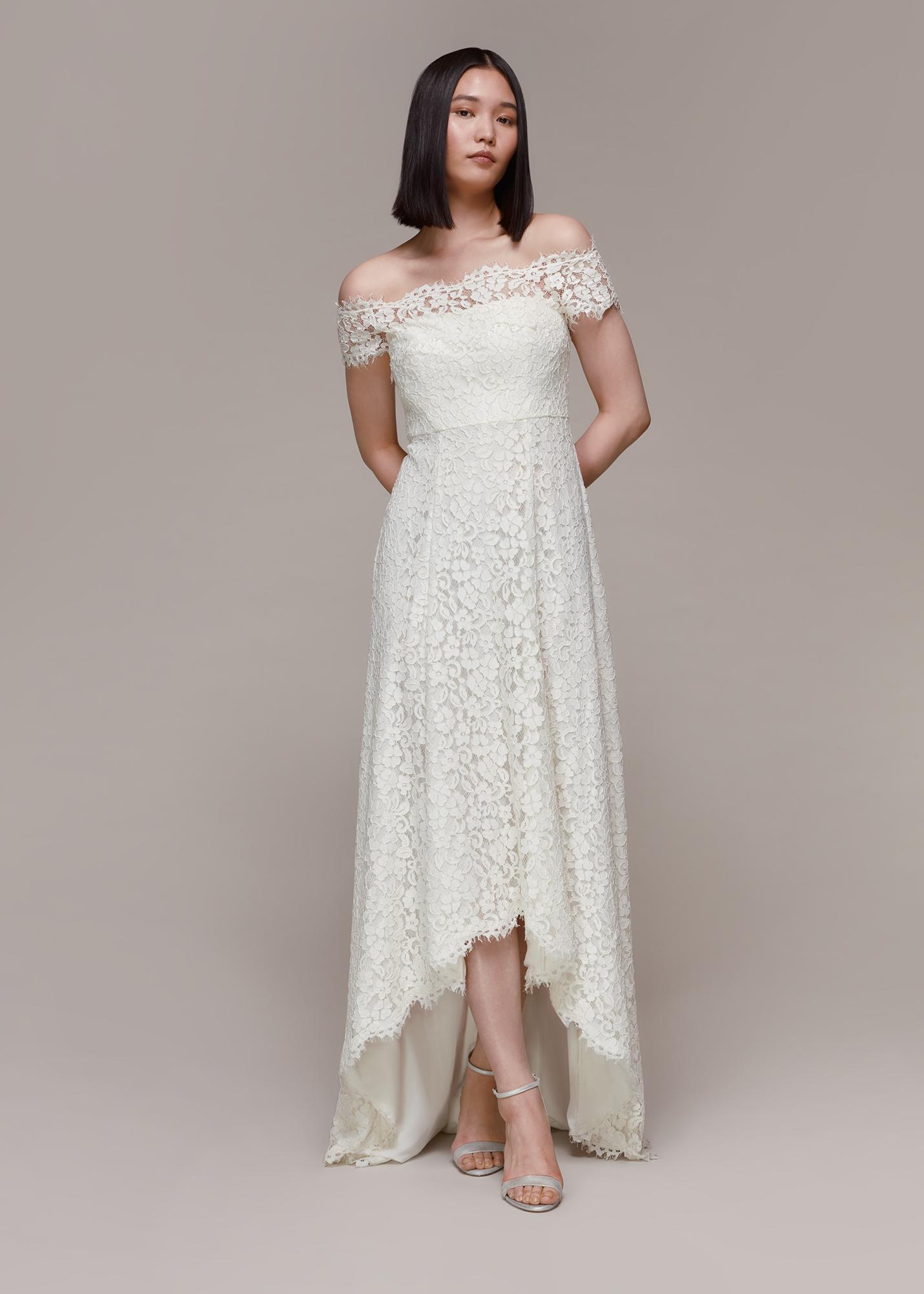 Whistles Women Rose Wedding Dress