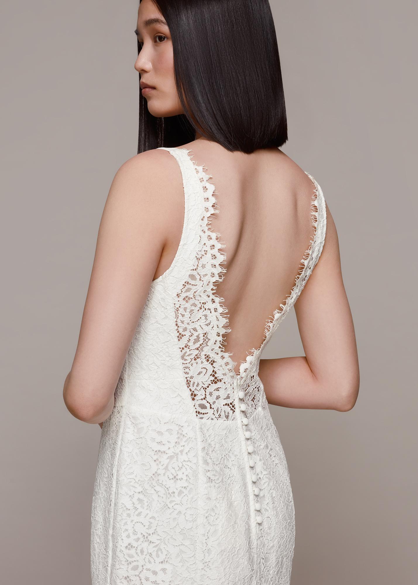Whistles Women Mia Lace Wedding Dress