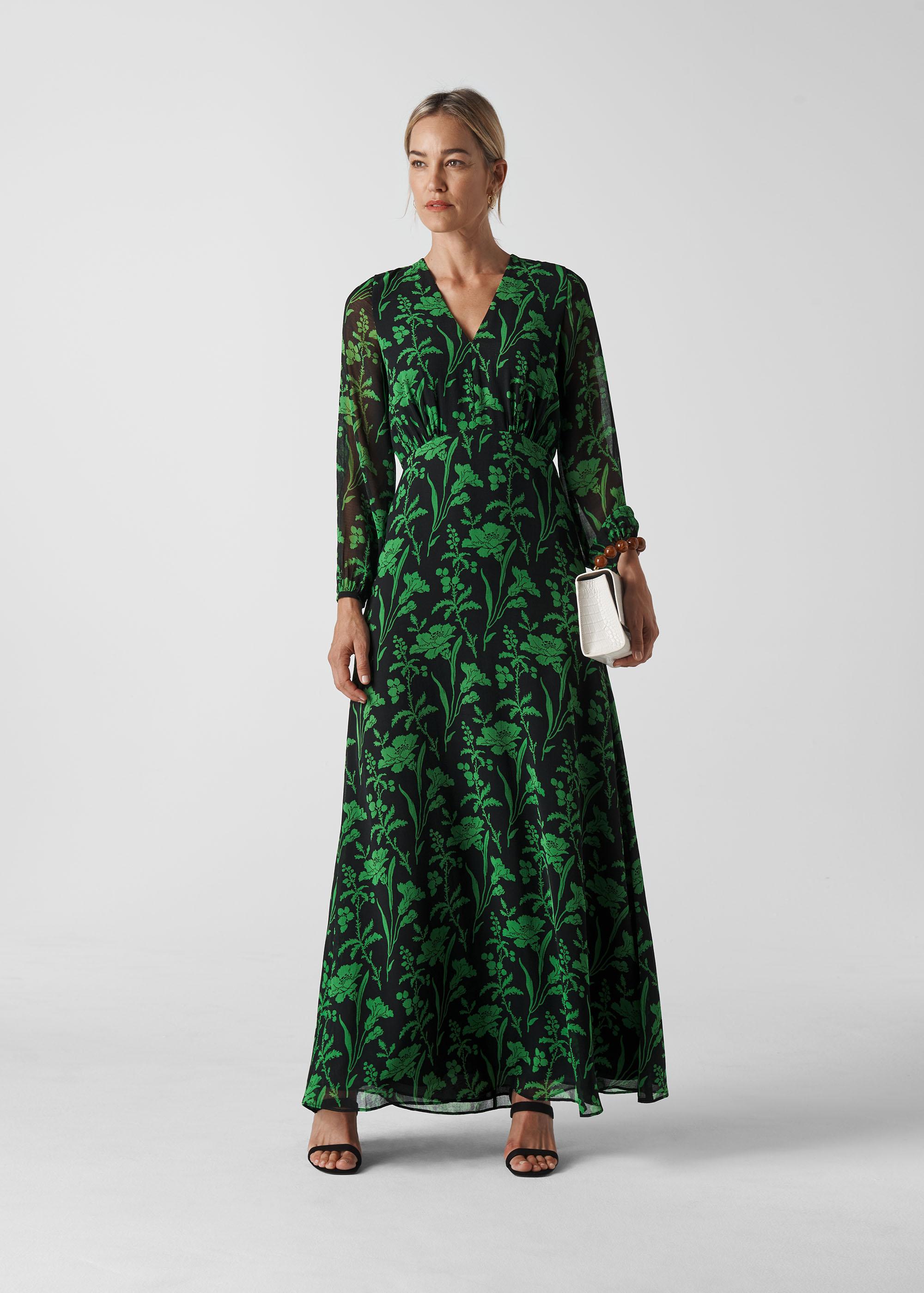 Whistles Women Valerie Woodland Floral Dress
