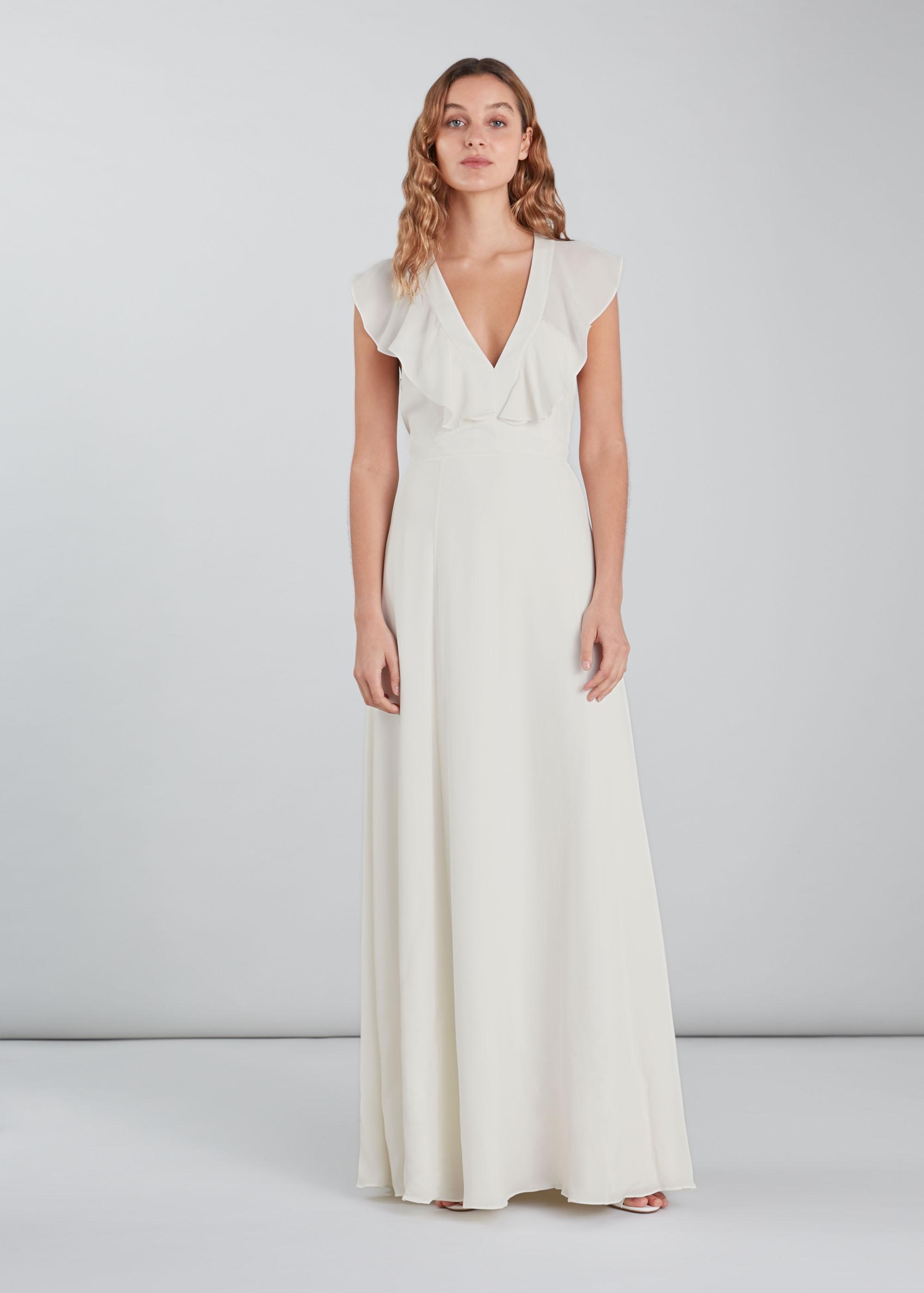 Whistles Women Eve Silk Wedding Dress