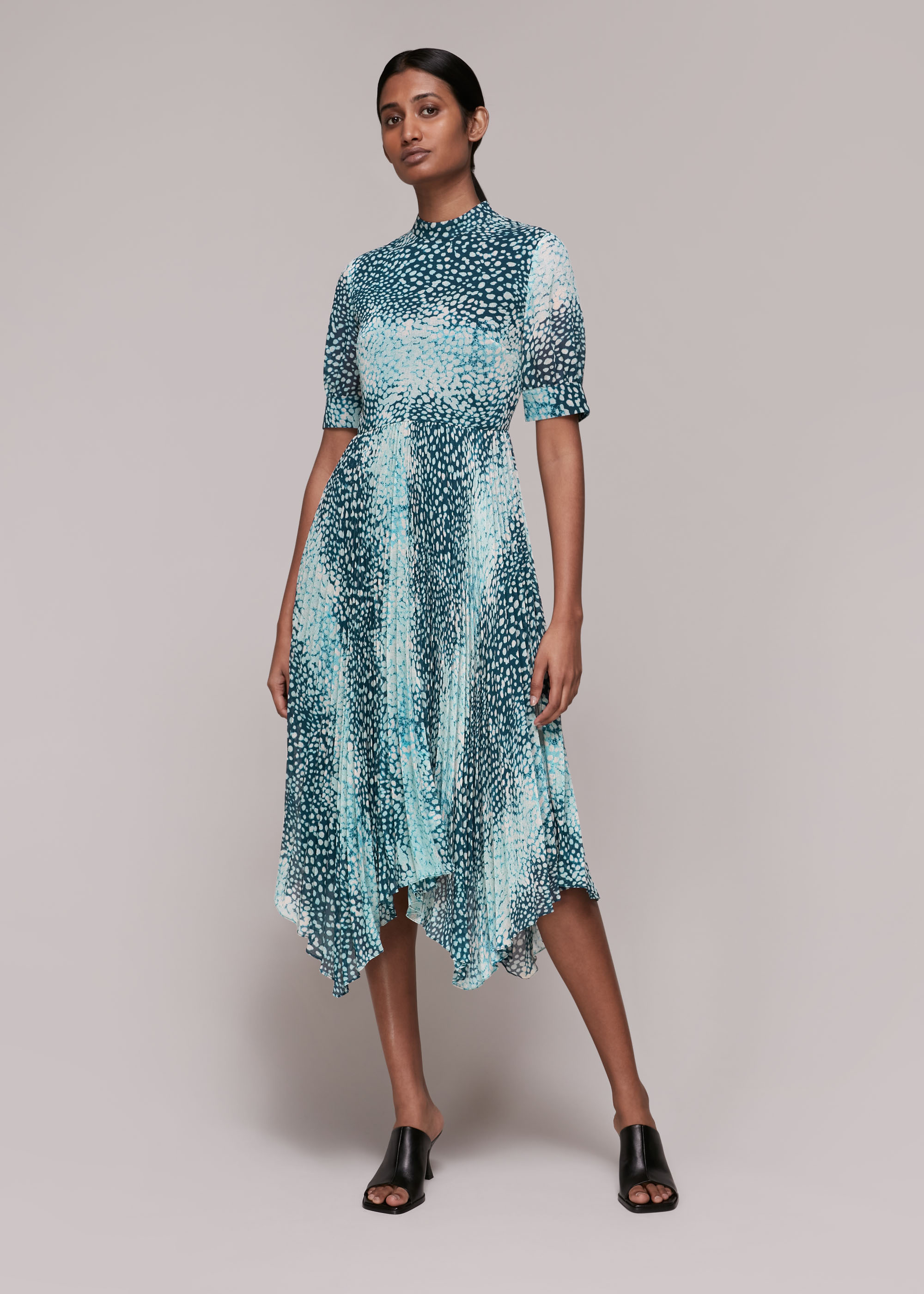 Whistles Women Esme Dalmation Print Dress